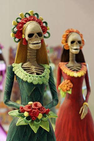 image: death or life: Catrinas